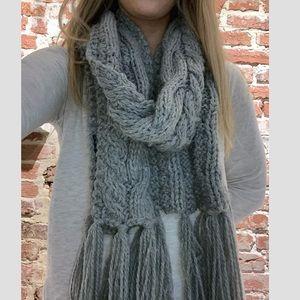 Chunky Knit Winter Scarf!
